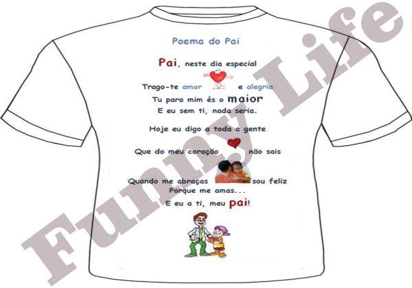 Camiseta Feliz Dia Dos Pais Tamanho Pmg E Gg Loja De Funnylife